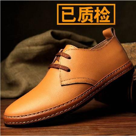 新款真皮男士日常休闲全皮鞋韩国风男鞋英伦风牛皮潮鞋子男春秋TSH194