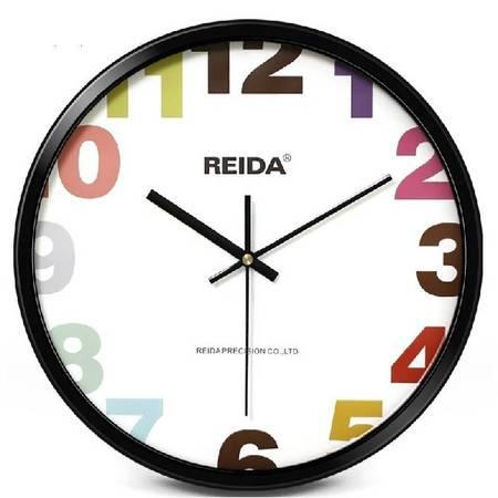 12英寸金属静音挂钟 创意客厅挂表时钟 欧式艺术个性石英钟表QGN025