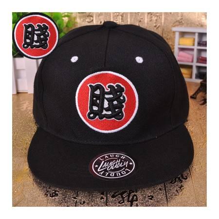 奔跑吧兄弟第二季陈赫李晨张歆艺同款嘻哈帽子男女天才字母棒球帽