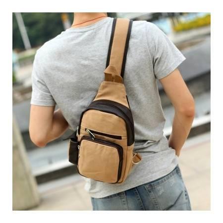 新款 潮人必备斜挎包小胸包 男斜跨背包 运动背包肩包小包包GC8005