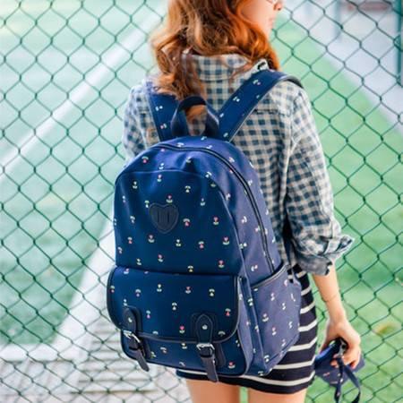 新款时尚韩版手提双肩包单肩旅行背包电脑书包女士包包潮 GC357