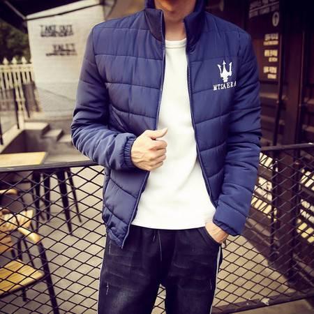 男潮冬装新款韩版修身男装青少年棉袄保暖外套棉衣 男潮ouf316