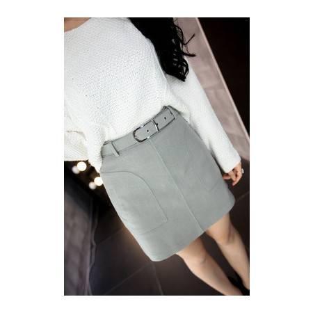 秋冬包臀裙高腰A字裙大码短裙半身裙一步裙裙子半裙包裙NC831-1