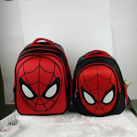 3D蜘蛛侠书包小学生男童双肩包1儿童男孩一年级6-12周岁5岁幼儿园