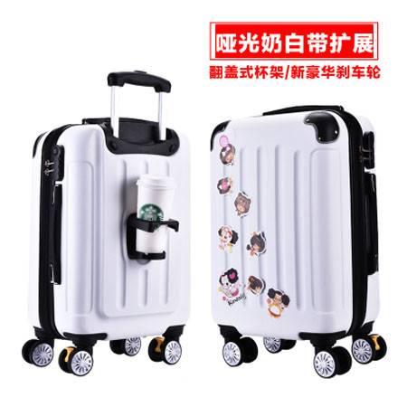 拉杆箱旅行箱包行李箱登机箱皮箱子万向轮男女潮24寸旅行箱mc282