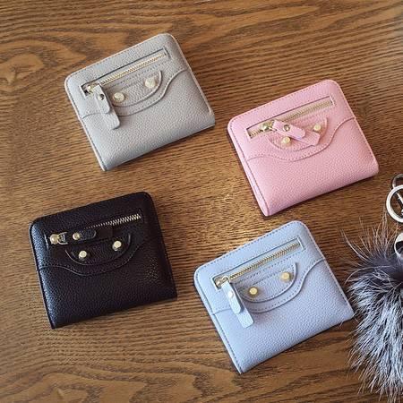 新款2016迷你两折小钱包女士短款学生可爱女式软皮夹钱夹潮 韩版ody182
