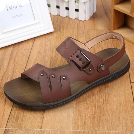 上海正品牛头牌 夏季新款男士凉鞋休闲沙滩鞋男韩版凉拖鞋男S58099
