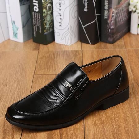 上海牛头牌正品商务皮  流行男鞋正品真皮低帮鞋子男66717