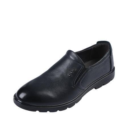 上海牛头牌正品男皮鞋 真皮 休闲皮鞋 透气低帮单鞋休闲鞋38-47码 H82923