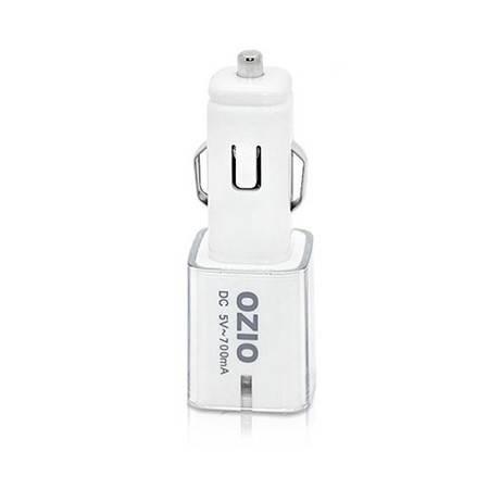 奥舒尔车载充电器 苹果iphone车充usb 汽车手机充电器 EB24