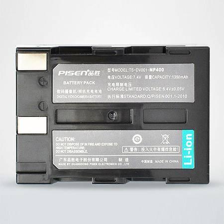 品胜 美能达NP400摄(照)像机电池|K20D K10D 5DI A7 A5A1相机电池