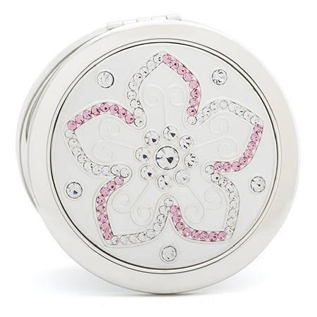 梵圣FASN 便携折叠化妆镜子 巴黎之花 礼物 J-a7000-1