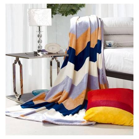博洋 维也纳风情毯 毛毯 毯子