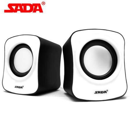 Sada赛达 v-182 电脑迷你小音箱 低音炮多媒体USB小音响 10个装