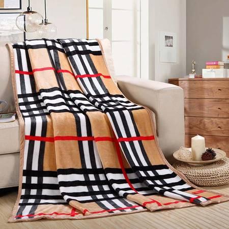 喜芙妮 尚桑子苏格兰风情毯