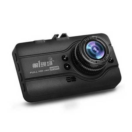第1现场D-108 高清行车记录仪 1080P高清 170度广角 3英寸屏 送16G卡 读卡器