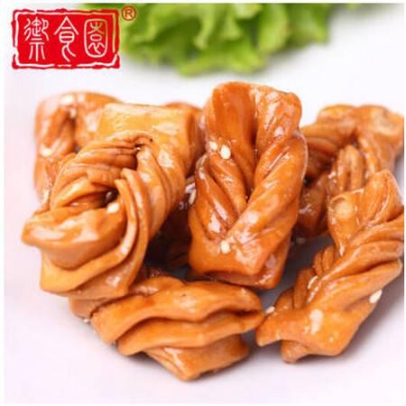 御食园蜜麻花500g  传统糕点小吃 美食小吃零食
