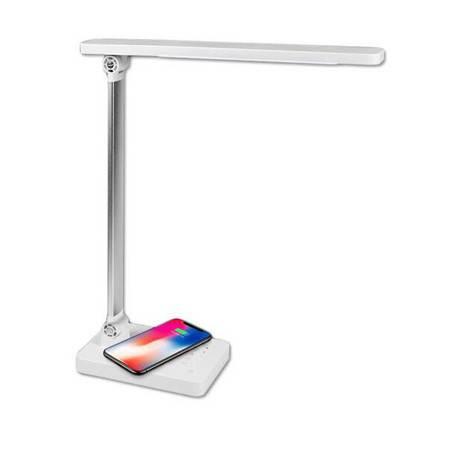 DP久量 LED学习台灯5段调光苹果三星安卓无线充电器 DP-1053