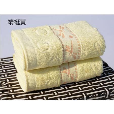 纯棉蜻蜓点水毛巾