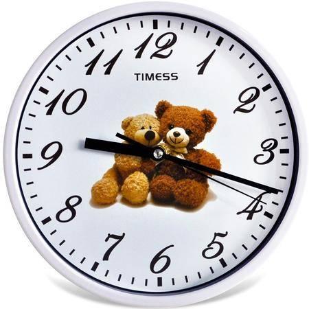 天美时/TIMESS创意静音儿童房时钟表8801