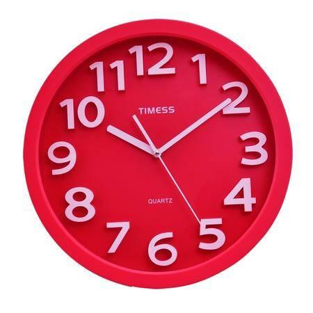 天美时/TIMESS闹钟 时尚创意多功能温度夜灯笔筒静音石英钟T66颜色随机