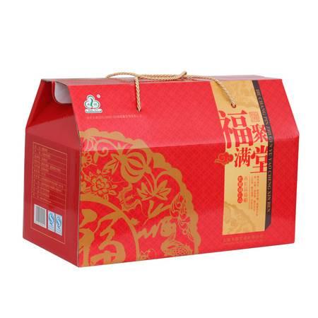 年货大礼包禾煜福聚满堂干货礼盒1451g土特产干货员工福利团购