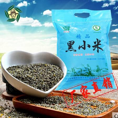 2016新山老汉黑小米 山西特产五谷粗粮农家小米杂粮2.5kg