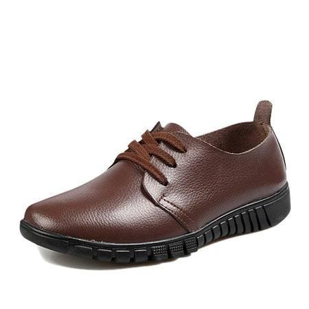 salafox 英伦风牛皮日常休闲商务男士皮鞋 8581