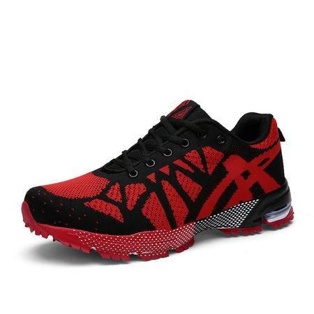 Salafox  2015冬季新品英伦风飞织鞋面男士运动鞋 男鞋 板鞋 阿甘鞋 1518