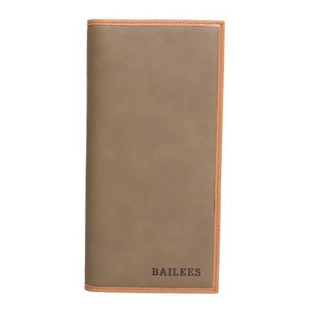英国百利BAILEES 长款 进口头层牛皮 男士钱包票夹 B-90168-698 绿