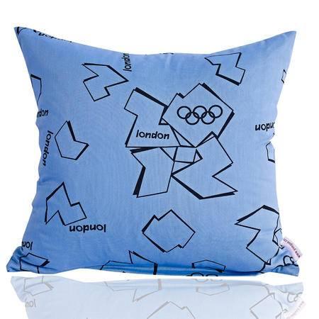 愉悦家纺  时尚家居沙发靠垫抱枕含芯 靠垫 午睡枕一对装