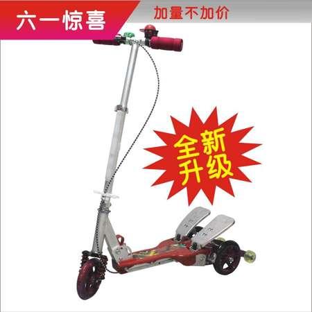 VOTRE新款儿童健步滑板车铝金属材质/儿童玩具/健身器材BT-1018A红