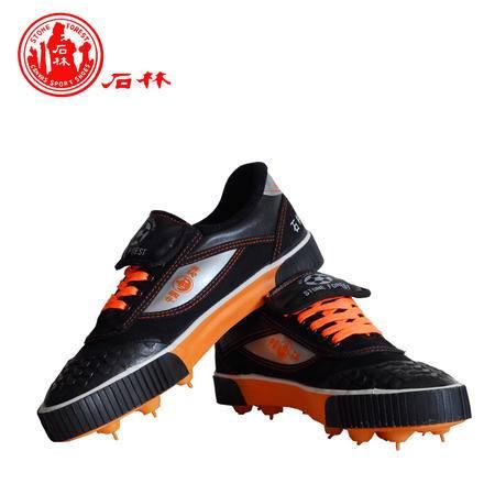 石林专柜正品帆布运动球鞋训练鞋帆布足球鞋