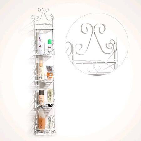 铁艺 浴室收纳架 毛巾架 欧式风格 墙角架 现货 批发 加工 yf126