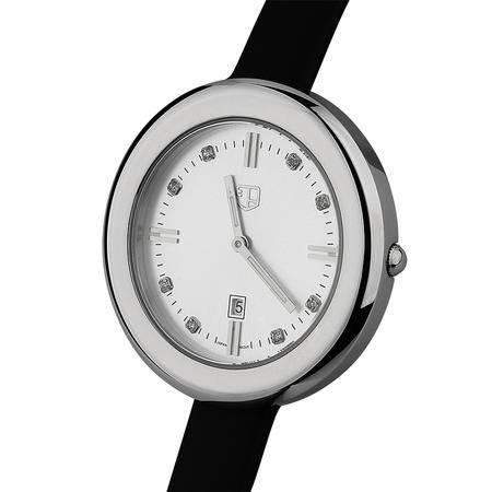 大宏正品韩版潮时尚水钻表时装表日历女式皮带女款防水手表 钢表SC-80028
