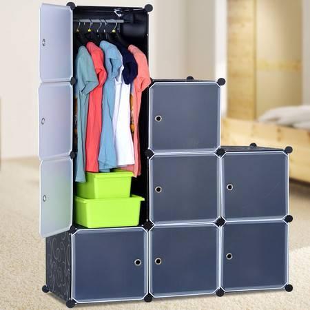 索尔诺自由组合式简易收纳柜 多功能衣橱 简易儿童衣柜3509