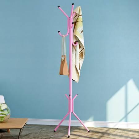 索尔诺卧室铁艺金属衣帽架 落地时尚创意衣服架 挂衣架
