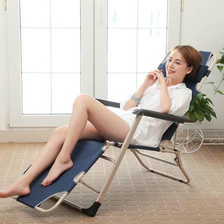 索尔诺 折叠床 加粗钢管两用躺椅 午睡单人床 办公室午休椅 简易床行军床303