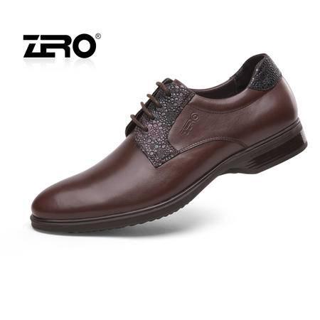 Zero零度 新品英伦商务正装鞋 潮流时尚男士皮鞋 头层牛皮63952