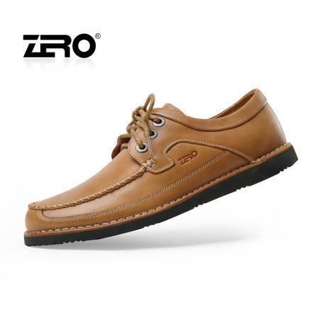 Zero零度 新品皮鞋 男士休闲鞋 商务男鞋 时尚板鞋 纯手工 63967