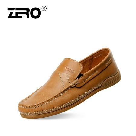 Zero/零度尚品 休闲男鞋 男士皮鞋 日常皮鞋  63953