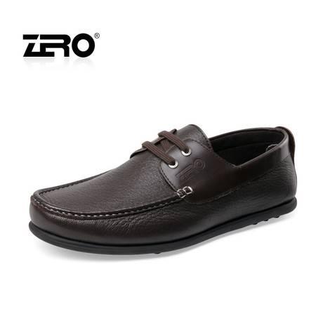 Zero零度 新品 豆豆男鞋 鹿皮超软舒适透气男鞋 男士单鞋 63929