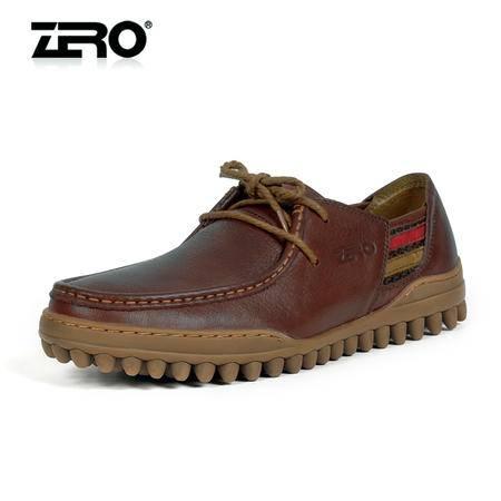 Zero零度 男士运动休闲鞋 时尚潮流休闲皮鞋 单鞋豆豆鞋 63926