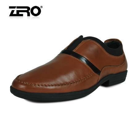 零度 超软舒适潮男鞋 男士皮鞋 春季透气款 升级版 63956