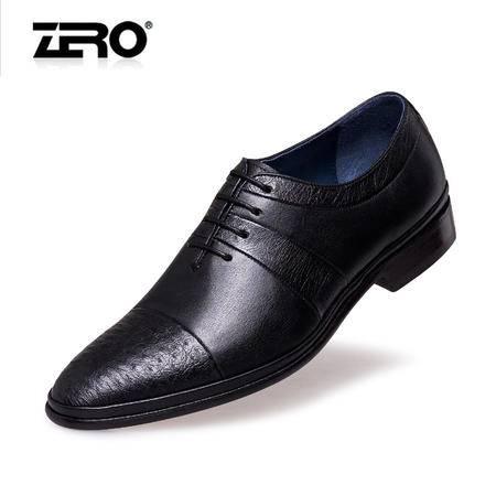 Zero意大利零度专柜同款 高档正装皮鞋 男士商务鞋真皮男鞋F6528