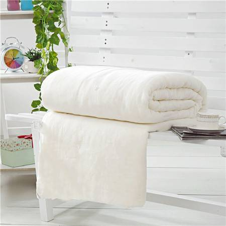 伊莲家纺PISCES 四季可用纱布套桑蚕丝被芯5尺床(1000g) YL-16SCS002S