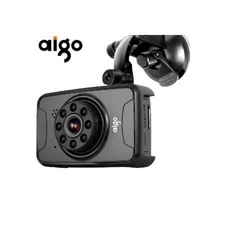 爱国者(AIGO)行车记录仪AHD-C900红外夜视摄像1080P高清140度广角