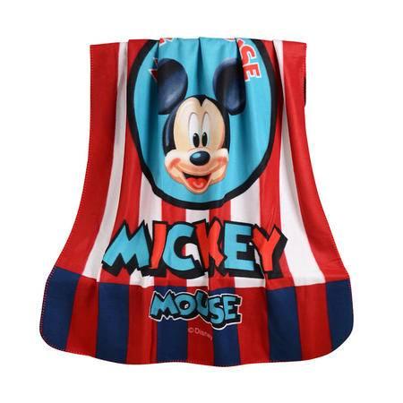 迪士尼/DISNEY米奇丝绒毯居家小毛毯双面薄丝绒毯子午睡毯DSM-7041  DSM-7041