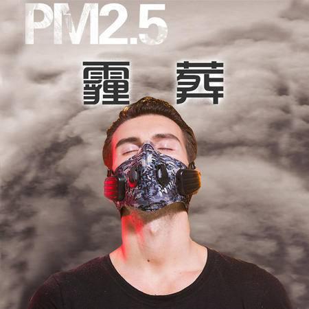 象鼻子科技高智能防霾音乐口罩 防PM2.5抗菌N95级别透气