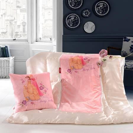 迪士尼/DISNEY公主抱枕被 办公室春秋靠垫被卡通折叠盖毯夏凉空调被DSN15-015